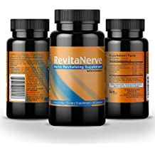 Neuropathy Pain Relief - Clinical Strength, Once-per-Day, Nerve Revitalizing Supplement with all Natural Formula Helps Soothe, Protect and Regenerate Nerves by RevitaNerve