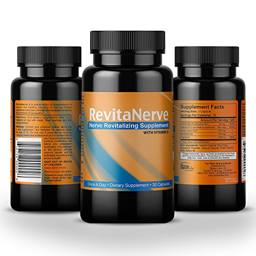 Neuropathy Pain Relief   Clinical Strength  Once Per Day  Nerve Revitalizing Supplement With All Natural Formula Helps Soothe  Protect And Regenerate Nerves By Revitanerve