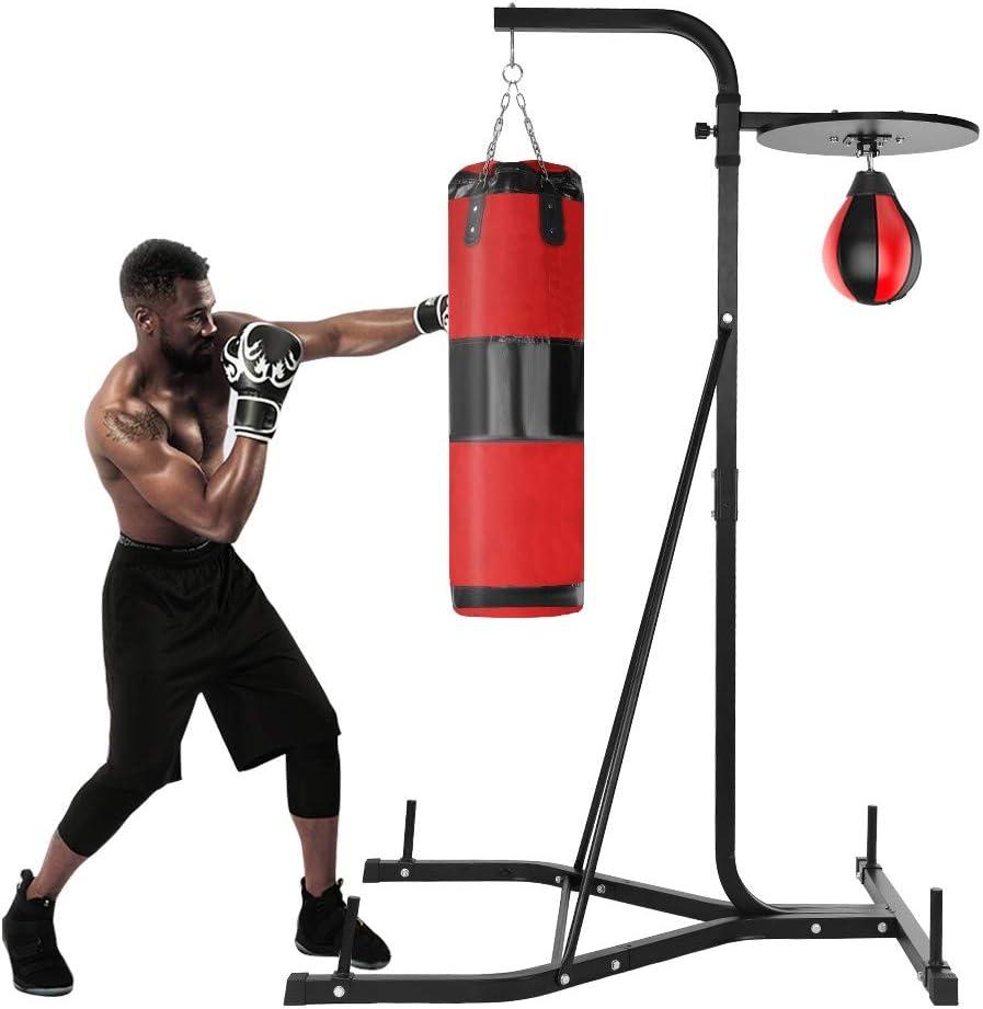 Free Standing Boxing Punch Bag Women Men Kick Art UFC Indoor MMA Gym Training