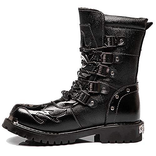 In Militare High Top Uomini Da Vintage Esercito Black Combat Stivali Tattiche Gli Calzature Desert Shoes Pelle Per Boot Shanly Utility Lavoro Pu 5P0vxSqS