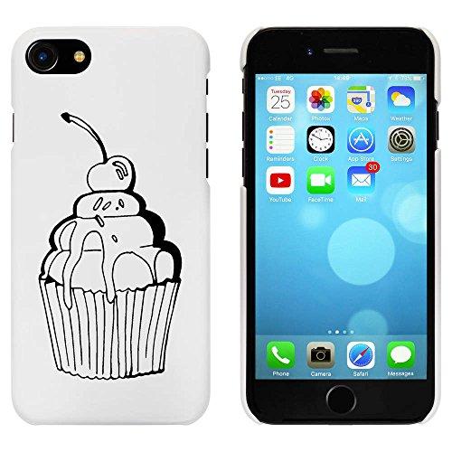 Blanc 'Cerise de Petit Gâteau' étui / housse pour iPhone 7 (MC00072654)