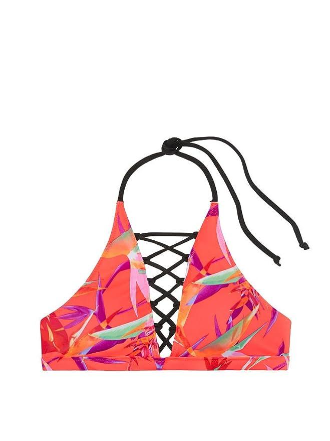 Amazon.com: Victoria s Secret rosa bañadores tiras de ...
