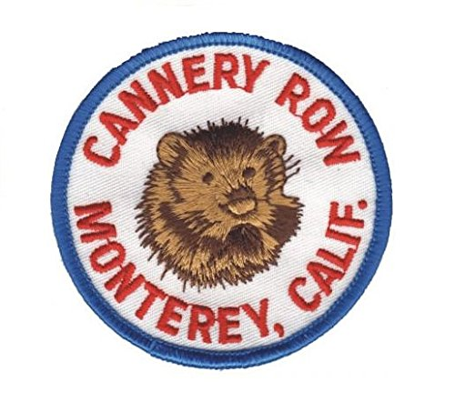 Cannery Row, Monterey California Patch (Iron - Monterey Cannery