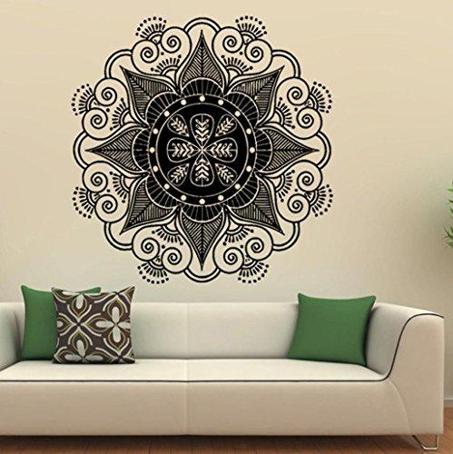 Clearance!! ZOMUSA Mandala Flower Indian Vinyl Wall Decal Ar