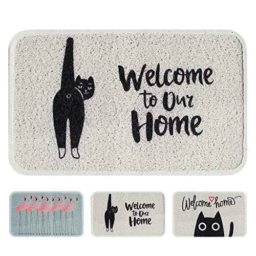 Cayman Pets Pet Feeding Mat-Dog Food Mat and Cat Food Mat, Pet Bowl Mat, Cat Litter Mat, Water Resistant Door Mat, Large Size, 29.5