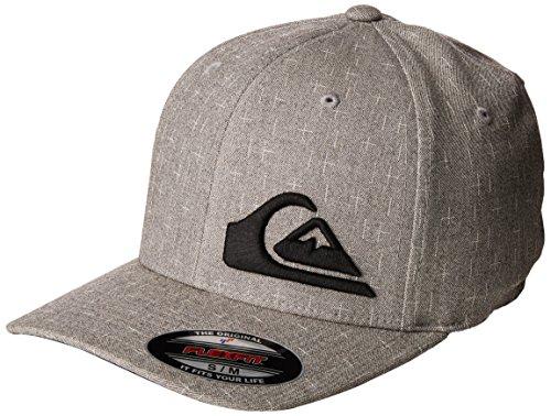 Quiksilver Men's Final 2 Hat, Light Grey Heather, Large/X-Large