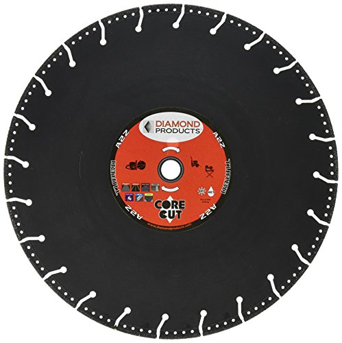 Diamond Products Core Cut 21571 14-Inch by 0.125 by 1-Inch A2Z High Speed Specialty Blade, TAZ14125 - Diamond Products Core
