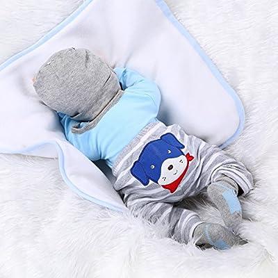 Reborn Baby Doll Suave Simulación Cuerpo De Tela De Silicona ...