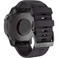 IMAYCC Quick-Fit Fenix 6 Watch Band, 22mm Band Replacement for Fenix 5/Fenix 5 Plus/Fenix 6 Pro, Approach S60, Quatix 5…