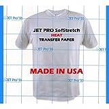 JetPro Sofstretch Inkjet Heat Transfer Paper 8.5×11 50, Office Central