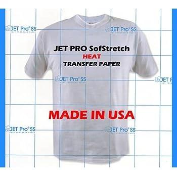 T shirt inkjet iron on transfer paper 50 pack for Iron on shirt paper