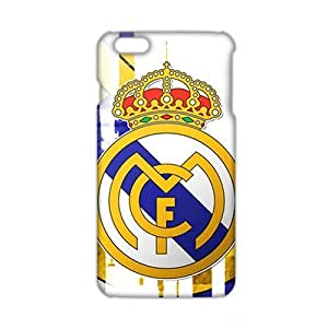 Angl 3D Case Cover Real Madrid Logo Phone Case for iPhone6 plus