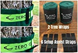 Zero Gravity Slacklines Slackline Kit with Industry Leading Carry/Storage Bag, Upgraded Ratchet w/Molded Finger Grip & Smooth Operation + Tree Protectors; Great Set for Kids, in All respects