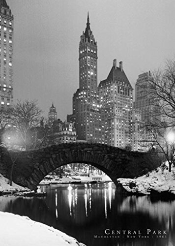 Central Park Bridge Manhattan NYC Poster 24x36