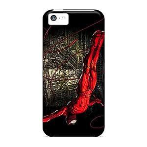 Iphone 5c OhS6665Lwfr Custom Colorful Daredevil I4 Series Shock-Absorbing Hard Cell-phone Cases -LauraAdamicska