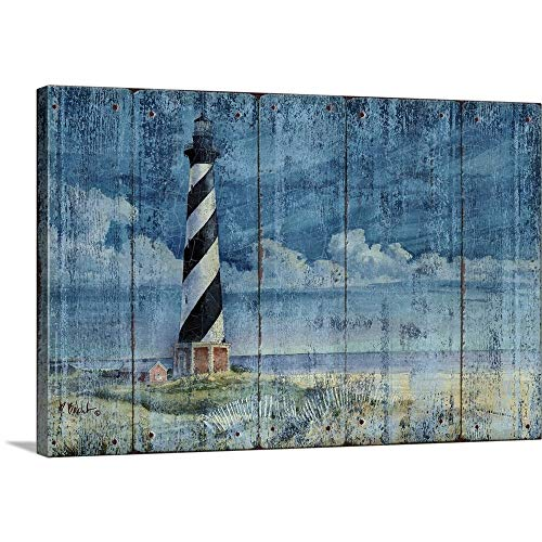 Paul Brent Premium Thick-Wrap Canvas Wall Art Print Entitled Silent Sentinel- Distressed 18
