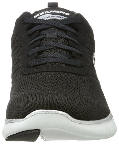 Skechers Women's Flex Appeal 2.0 Break Free Multisport Outdoor Shoes, Gray, US Black/White