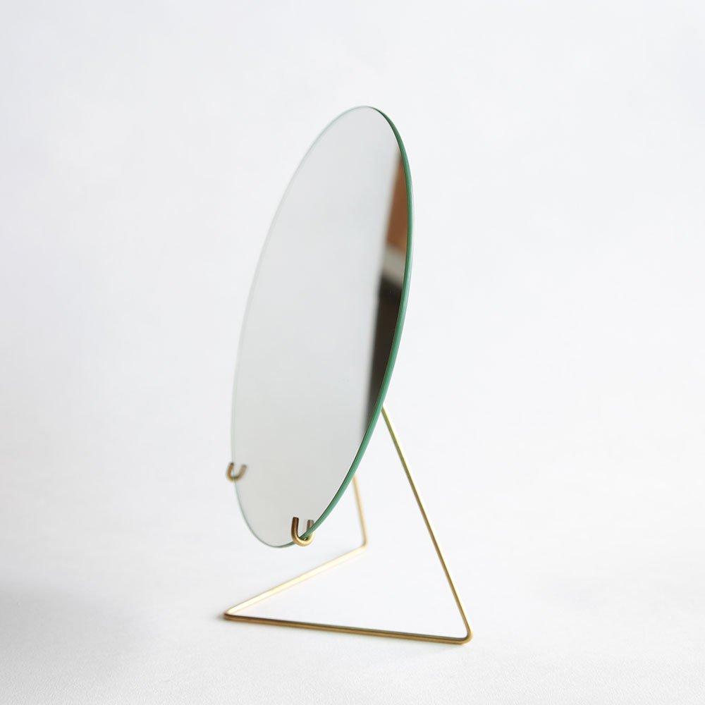 【正規日本代理店品】 MOEBE/ムーベ MIRROR ミラー 直径20cm 丸型 (ブラス) B01LH8F6QQブラス