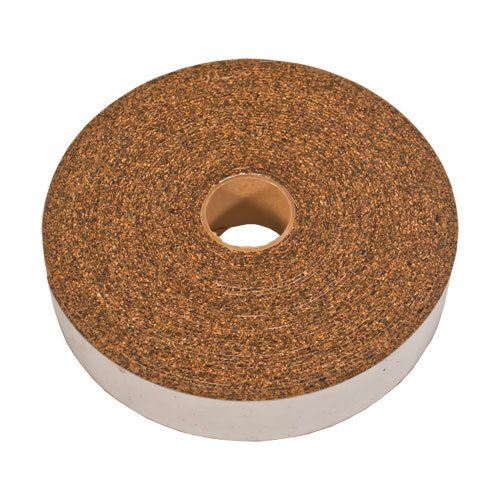 "CORK AND RUBBER STRIPPING WITH ADHESIVE 1/8"" THICK"