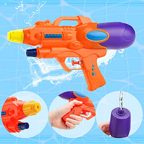 Shindel Water Guns for Kids, 3PCS Multicolor Squirt Guns Kids Pool Toys Pool Party Favors Indoor Outdoor Summer Toy