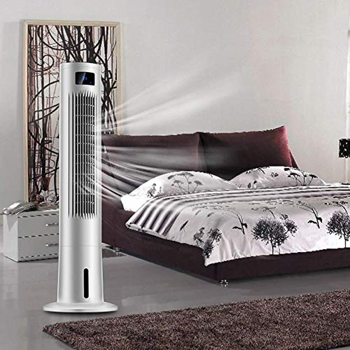 Gelaiken Desktop Fan Home Fan Mobile Air Conditioners Air Cooler Air Conditioner Fan Evaporative Humidifier Air Purifier Air Freshener Mute Household Tower Leafless Table Desk Fan for Home and Travel by Gelaiken (Image #2)
