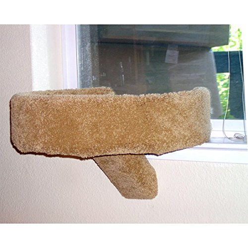 Tub Sleeper Cat Window Perch (Off White)