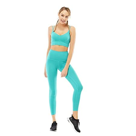 Sujetador deportivo para mujer Yoga Dos piezas, Mujeres ...