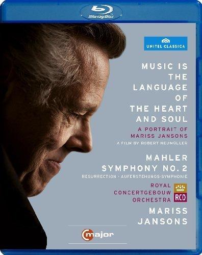 Mariss Jansons - Music Is Language of Heart & Soul / Mahler Sym 3 (Blu-ray)