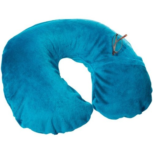 Travel Conair TS22Teal Inflatable Fleece