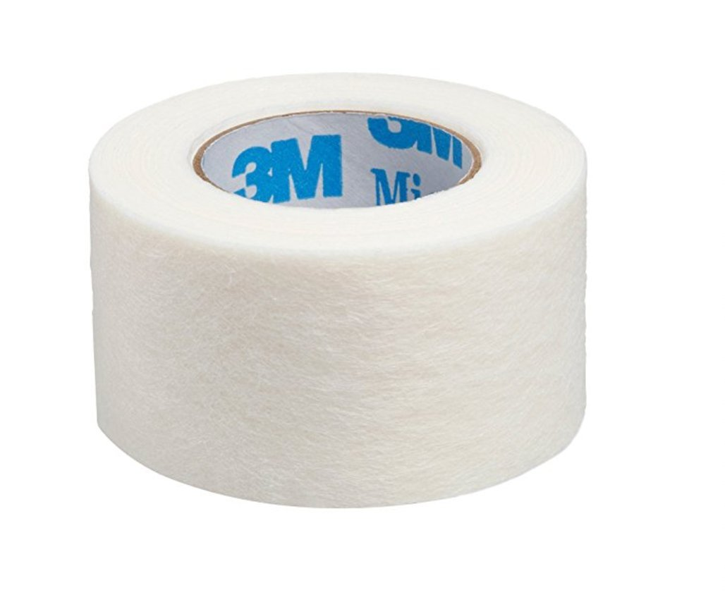 3M Micropore Tape 1350-1 (2 rolls) 1 x 10 yards
