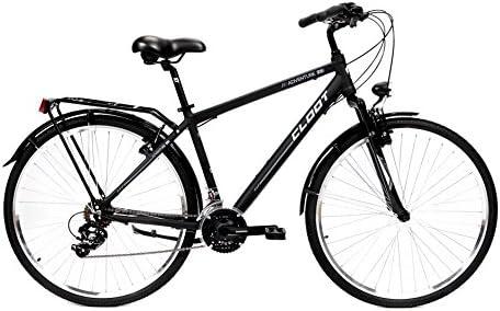 CLOOT Bicicleta Hibrida-Bicicleta Trekking Adventure 7.1 Cuadro ...