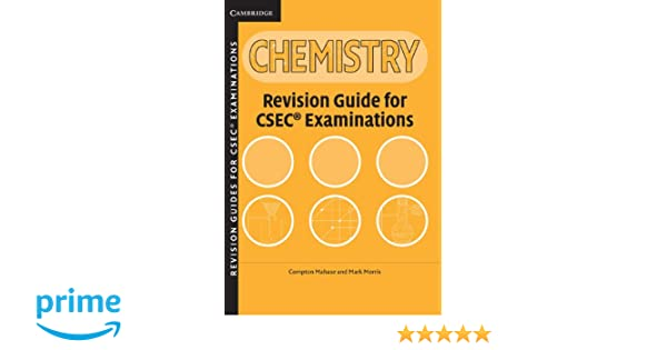 Amazon csec revision guide for chemistry caribbean amazon csec revision guide for chemistry caribbean 9780521692960 compton mahase mark morris books fandeluxe Gallery