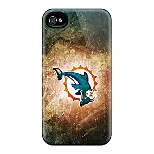 6 Scratch-proof Protection Cases Covers For Iphone/ Hot Miami Dolphins Phone Cases