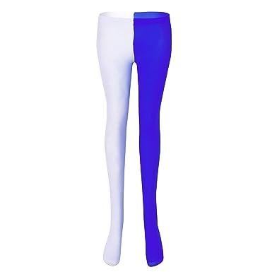 TiaoBug Unisexe Homme Femme Bicolore Collant Legging de Danse Yoga Bas de  Sport Collant de Gymnastique de7f4fbb243b