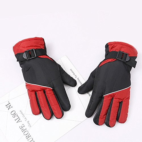 Anhubs Ski Gloves Snowboard Snowmobile Waterproof Windproof Winter Warm Snow Gloves