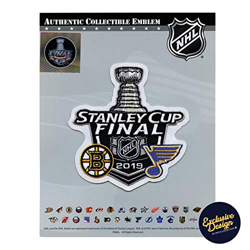 2019 Official NHL Stanley Cup Final Dueling Patch Boston Bruins St Louis Blues ()