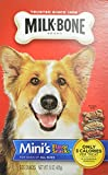 MILKBONE DOG BISCUITS 799049 12-Pack Flavor Snacks Mini For Pets, 15-Ounce