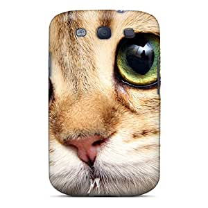 Brand New S3 Defender Case For Galaxy (cat Eyes)