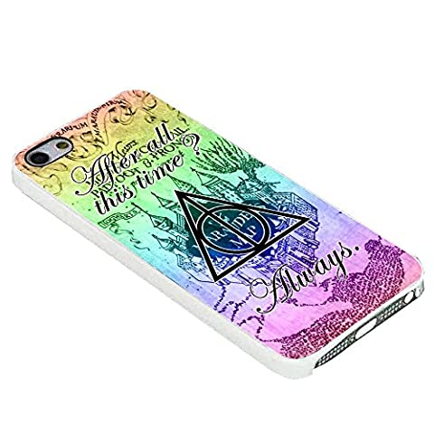 Harry Potter Severus Snape Quote For iPhone Case (iPhone 6S white) (Beatles Phone Case 5c)