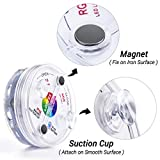 LOFTEK Magnet Submersible LED Lights with Suction