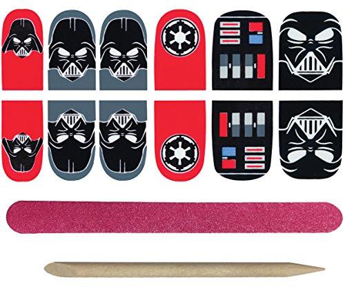 Rubie's Adult Star Wars Darth Vader Nail Stickers