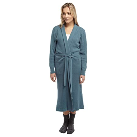 Cashmere Dressing Gown House Coat Limited Editions 1373 Sky Blue