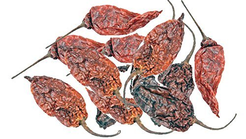 - Dried Whole Ghost Chile (Bhut Jolokia) 18.16 Gram (15-20 Pods) by Om India Plaza