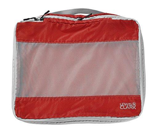 Lewis N Clark Electrolight Packing Cube, Large, Red