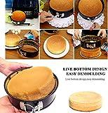 Springform Cake Pans, 3 Pcs Nonstick Cake Pan