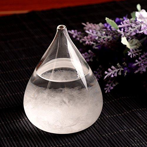 Christmas's Day Creative Stylish Desktop Drops Storm Glass Crafts Weather bottle Forecast Bottle Barometer -Mini Mini Weather Station