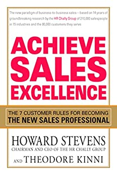 Amazon.com: Achieve Sales Excellence: The 7 Customer Rules