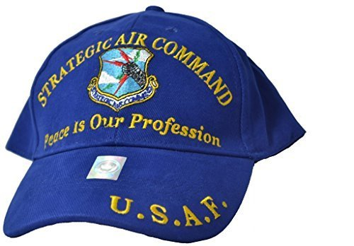 (Eagle Emblems Mens Strategic Air Command Embroidered Ball Cap Adjustable)