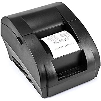 USB Thermal Receipt Printer TEROW 58mm Mini Small Portable Label Printer with High Speed Printing Compatible with ESC/POS Print Commands Set, Easy to ...