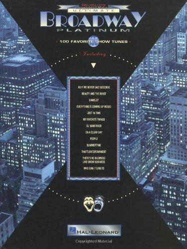 Ultimate Broadway Platinum: 100 Favorite Show Tunes